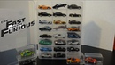 The Fast and Furious Cars Collection New Case Hot Wheels Racing Champions