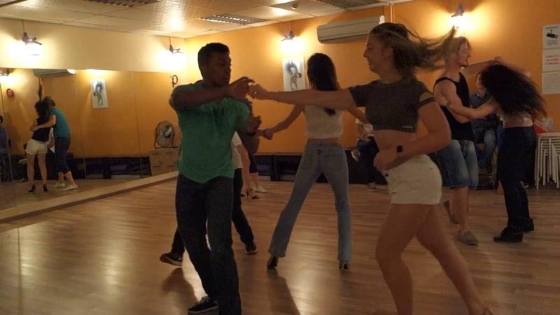 Layssa and Dev at ZoukRush 2016 Aug Zouk Dance Academy