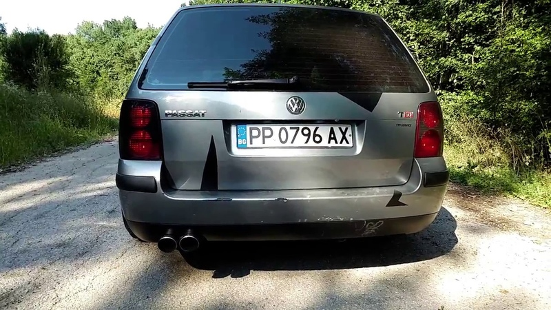 VW Passat B5.5 1.9TDI 190hp Remapped SOUND ACCELERATION