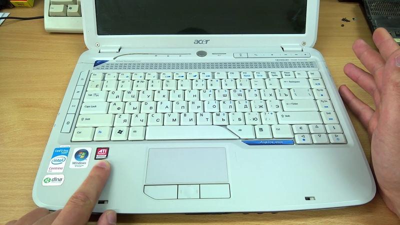 ACER Aspire 4920G за 80$ обзор классического мультимедийного 14 ноутбука