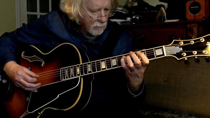 Villa Lobos Prelude 3 Acoustic Archtop Guitar