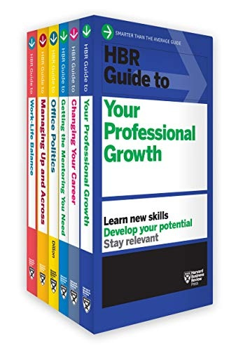 HBR Guides to Managing Your Career Collection (6 Books)