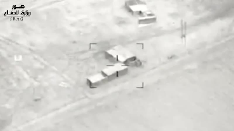 Coalition airstrike based on intelligence gathered by Iraq's security forces on a Da'ish IED storage facility in Kirkuk provin