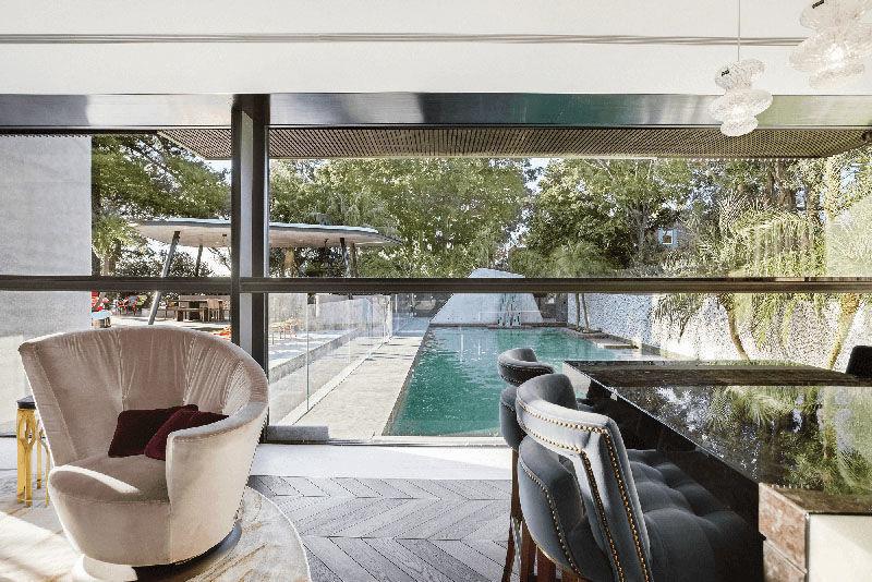 Реконструкция дома 70-х годов в Австралии