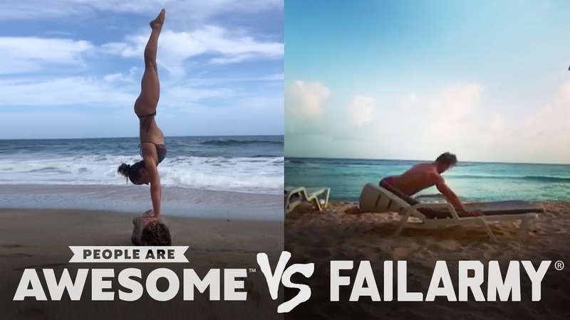 People Are Awesome vs. FailArmy Golfing Trickshots More!
