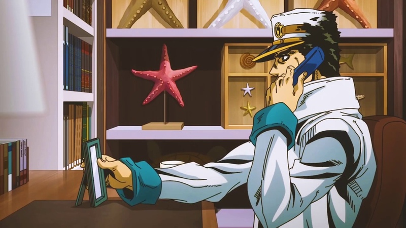 Jotaro remembers the stardust crusaders [Up OST]