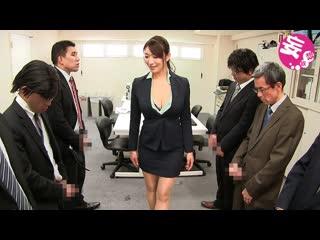 Reiko Kobayakawa. Office whore. Офисная шлюха
