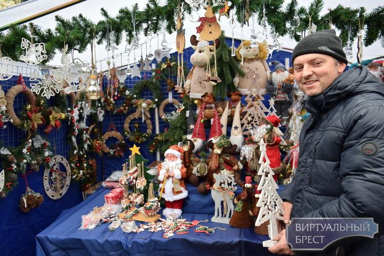 Сезон рождественских и новогодних ярмарок в Бресте откроют 19 ноября