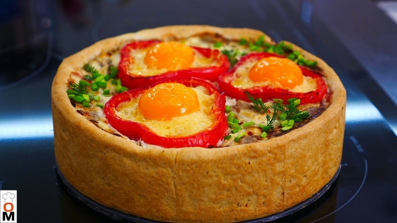 Закусочный Мясной Пирог | Очень Красиво и Просто | Ольга Матвей