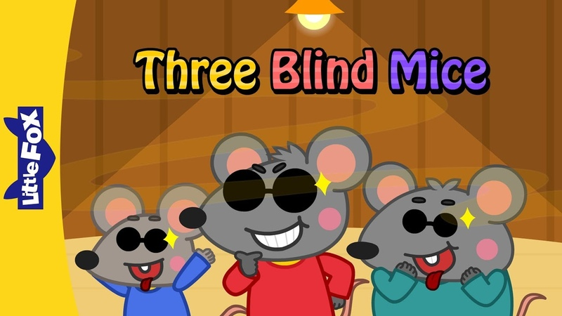 Three Blind Mice   Nursery Rhymes   Classic   Little Fox   Animated Songs for Kids