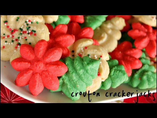 How to Make Spritz Cookies!! Classic Spritz Cookie Recipe