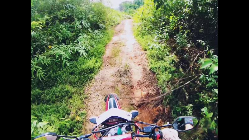 Crazy trails in Indonesia Aceh province