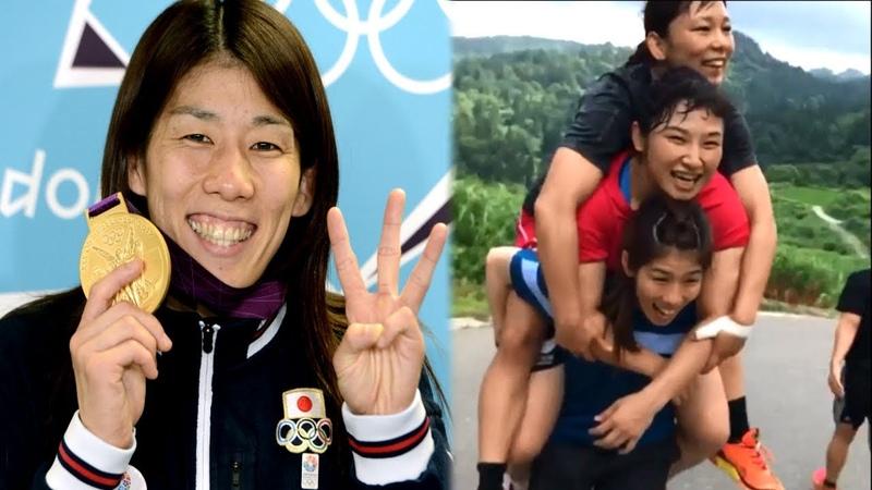 Saori Yoshida wrestling workout 3 x olimpic champion
