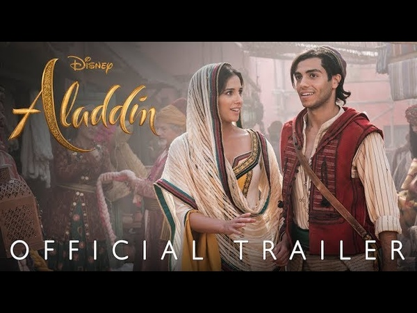 Disney's Aladdin Official Trailer In Theaters May 24