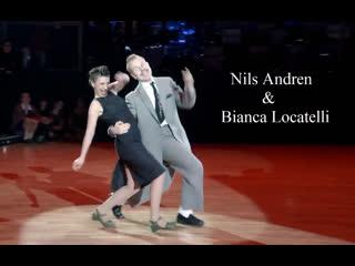 Nils Andren  &  Bianca Locatelli ... Эти ребята заставят вас улыбаться ... и танцевать !