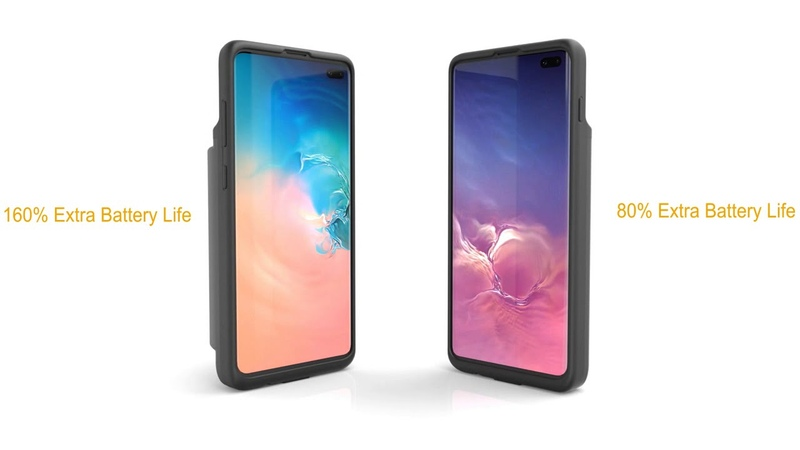 Zerolemon Extended Battery Charging Case for Samsung Galaxy S10 Plus
