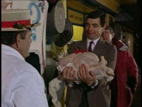 Mr Bean soutěž o krocana competition for turkey vystřižená scéna deleted scene rare