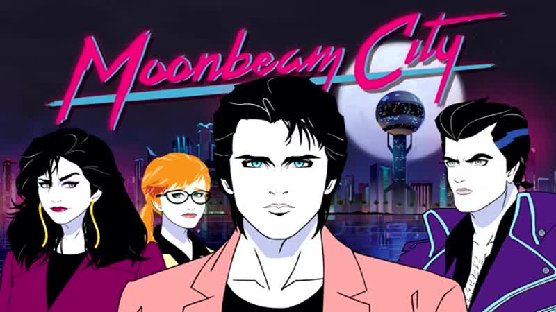 Night Club - Skydancer [Moonbeam City Soundtrack] Город лунного луча