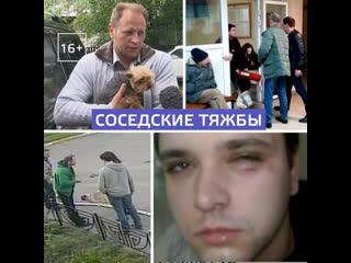 Соседские войны с побоями, шантажом и судом  Москва 24