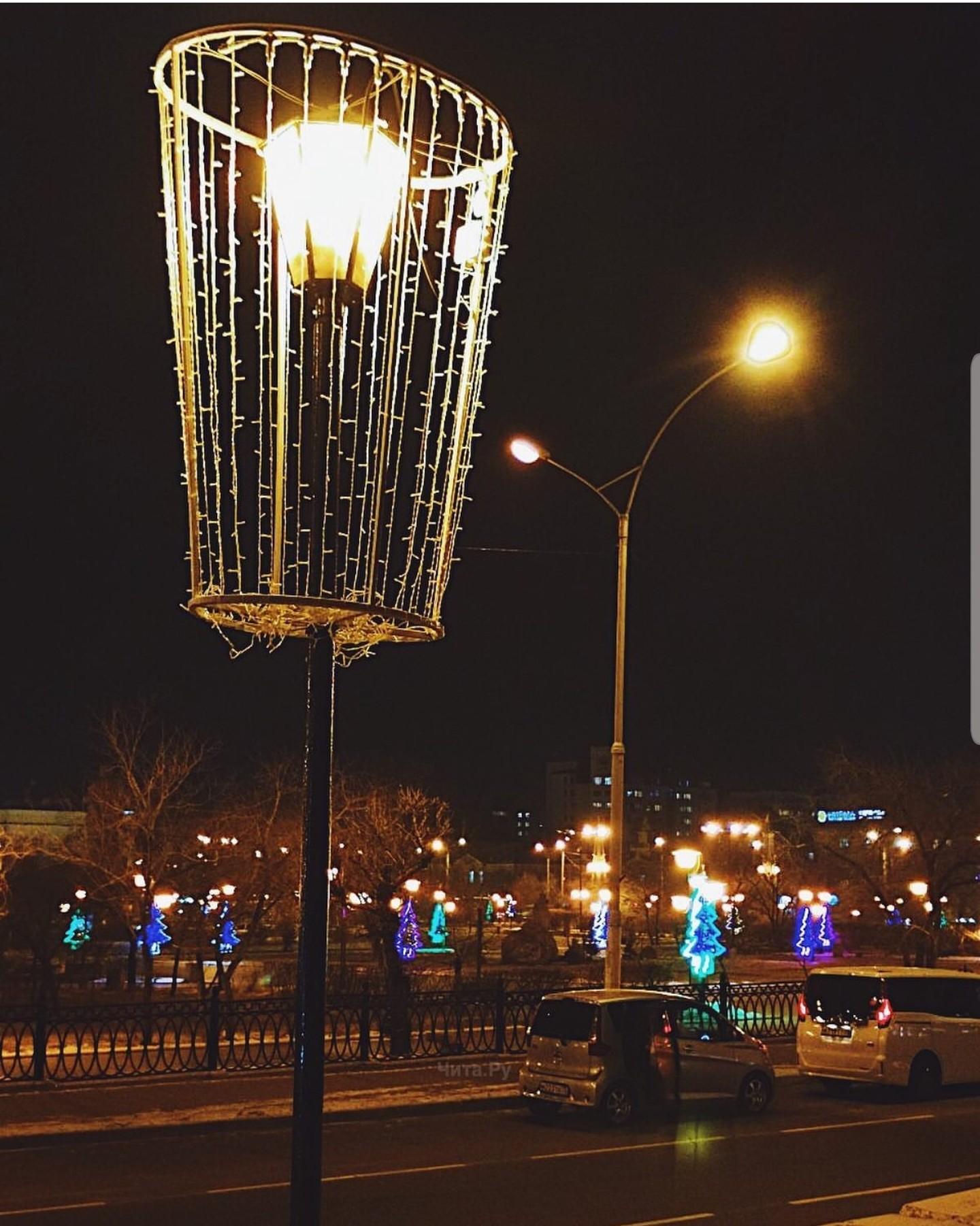 Новогодняя сказка в Чите