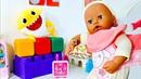 Беби Аннабель Кенгуру-переноска для Беби Бон. Играем в куклы. Дочки-матери Как мама