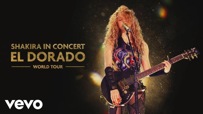 Shakira Perro Fiel El Perdón Medley Audio El Dorado World Tour Live ft Nicky Jam