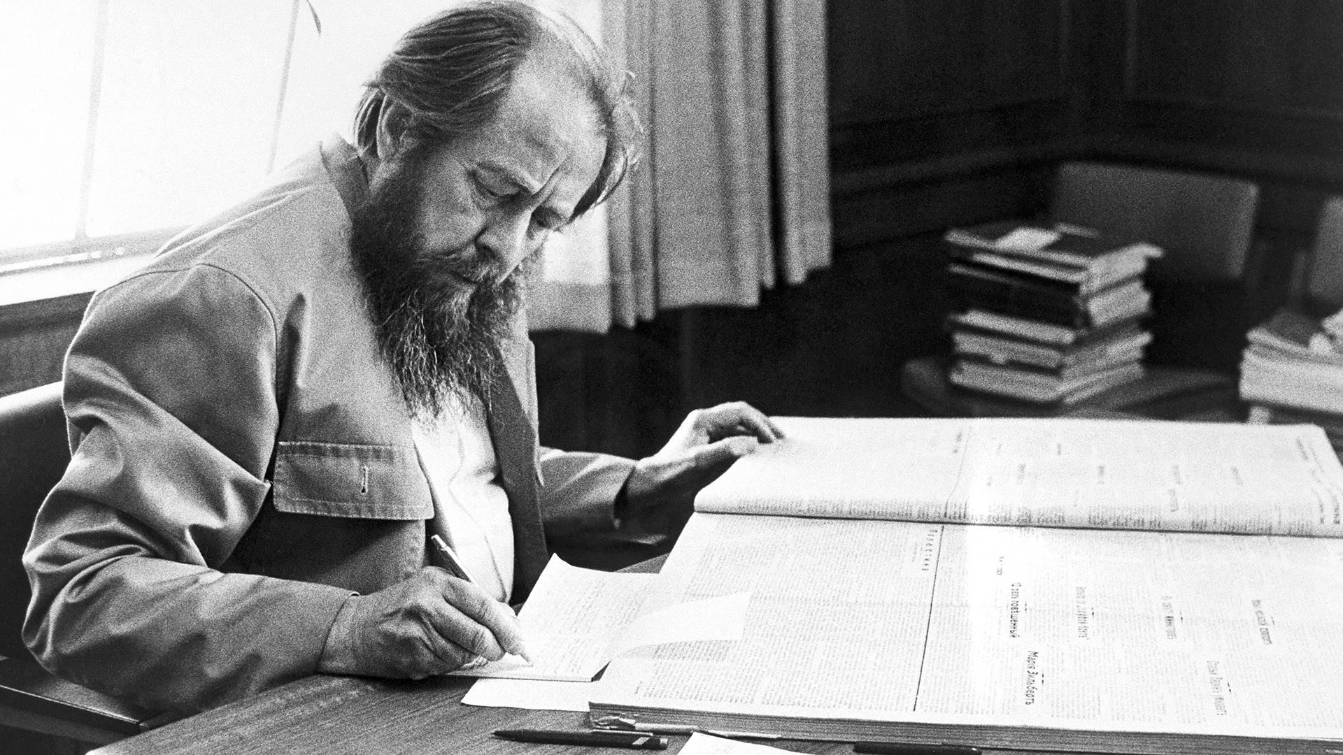Солженицын впервые был выдвинут на Нобелевскую премию в 1969 году
