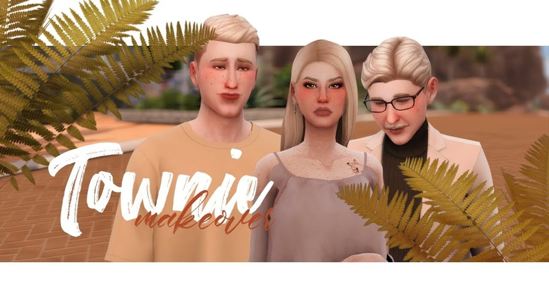 Семья Ландграаб TS4 Townie makeover