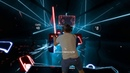 Beat Saber Escape in Mixed reality HTC Vive Pro LIV recorded