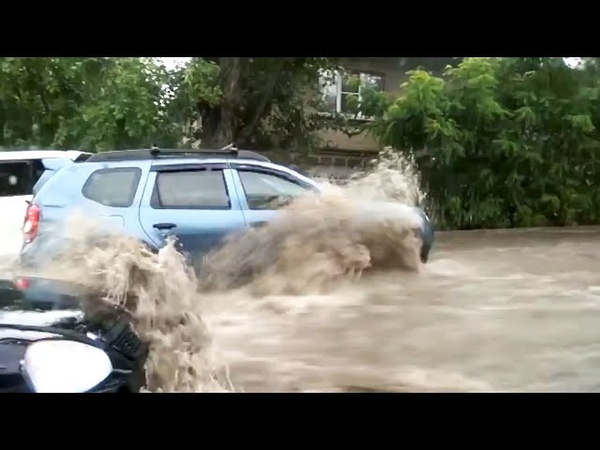 Ливень и потоп в Ростове на Дону