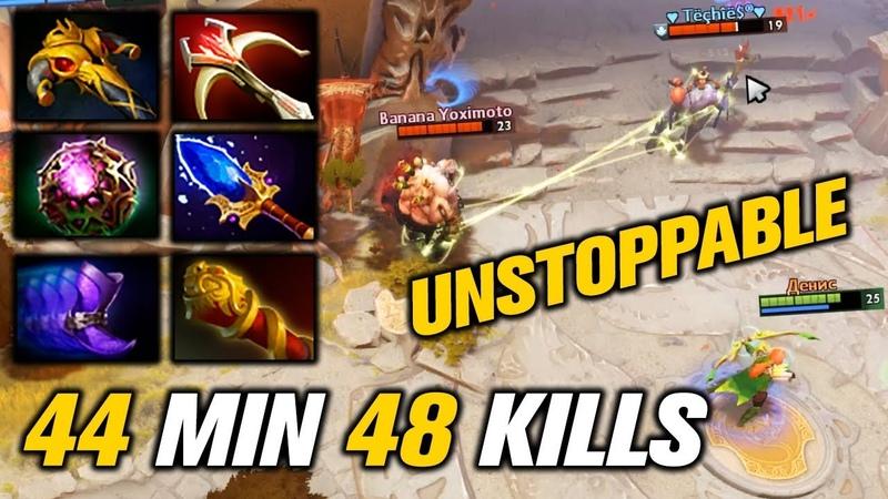IMBA Windranger [48 KILLS in 44 MIN] DOTA 2