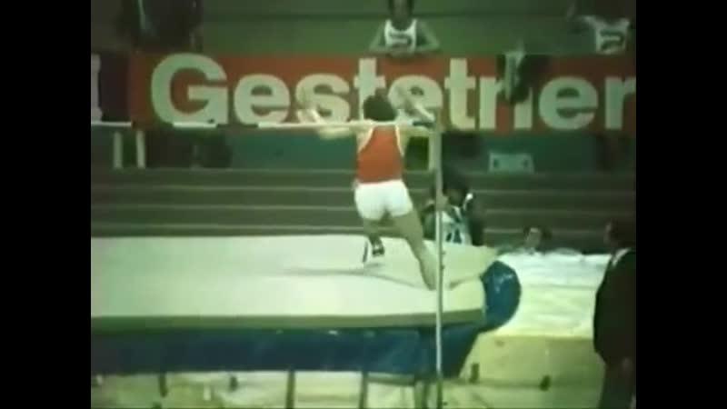 Владимир Ященко последний рекордсмен мира по прыжкам в высоту перекидным