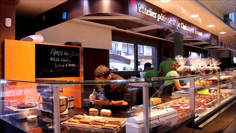 La vie de l'Atelier Pâtisserie de Christophe ROUSSEL sous les Halles de la Baule