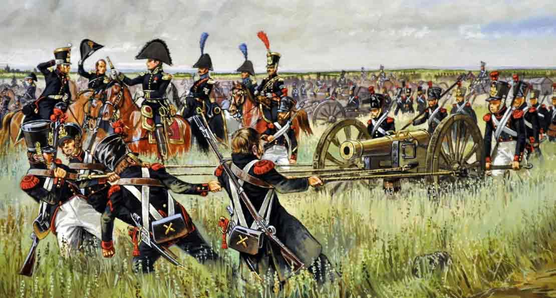Артиллерия французов