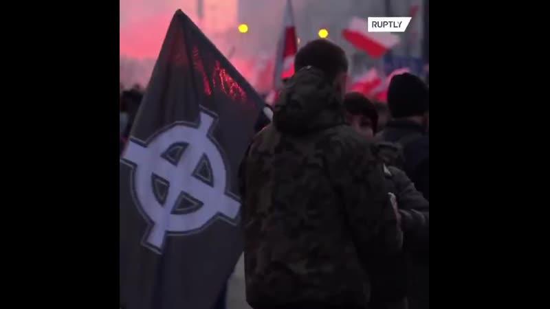Марш националистов в Польше