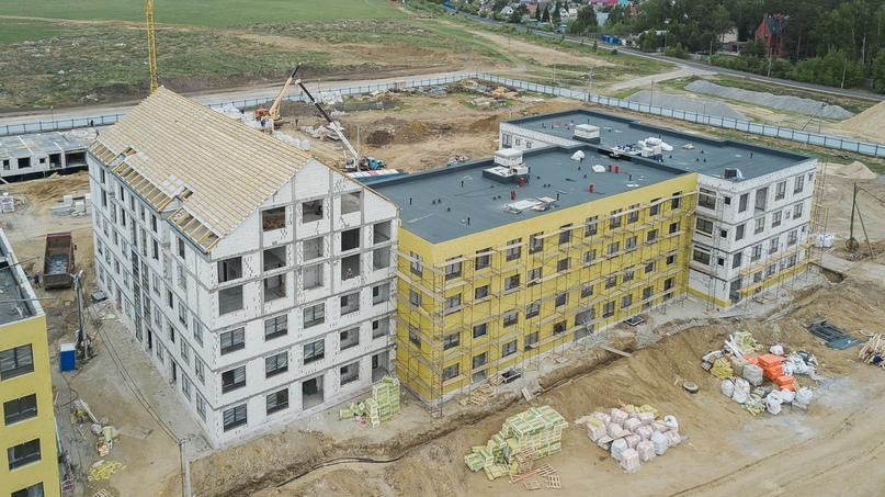 Отчет о ходе строительства квартал «Среда» май 2020, изображение №13
