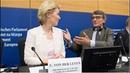 EPlenary: press conference by Commission President-elect Ursula von der Leyen