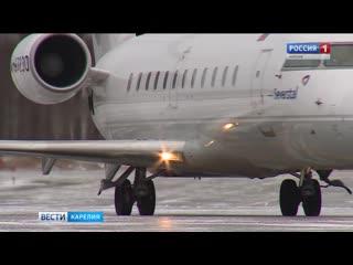Карельский аэропорт вновь заработал 2019 Петрозаводск