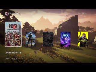 Xbox Series X UI concept