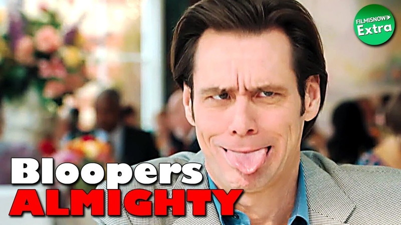 BLOOPERS ALMIGHTY JIM CARREY Gags Outtakes Compilation