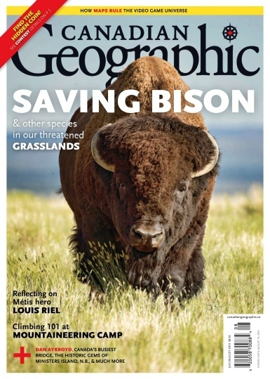Canadian Geographic – July-August 2019