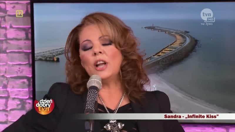 Sandra Infinite Kiss Dzien Dobry TVN 29 09 2012 Poland