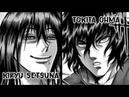 Tokita Ohma vs Kiryu Setsuna - El Ashura vs La Bella Bestia - Kengan Ashura - Ban el Bandido