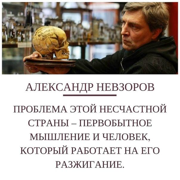 Александр Невзоров: Original: https://www.instagram.com/p/BVFLhnqh0yD/
