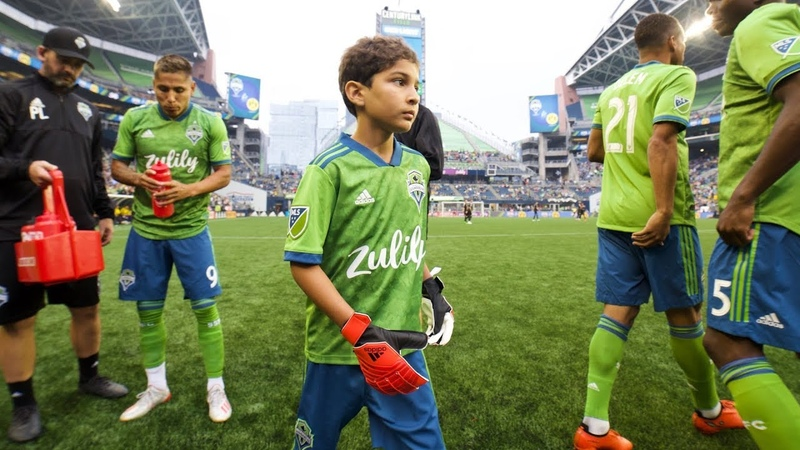 Make A Wish recipient Bheem Goyal debuts for Seattle Sounders FC
