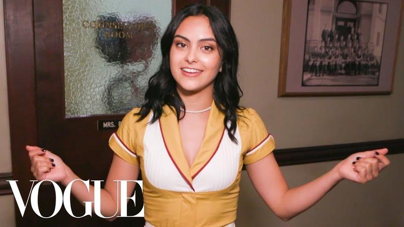 Vogue Камила готовится к съёмкам Ривердэйл 24 часа с Vogue