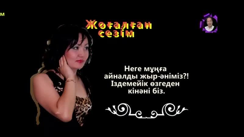 Лашын Мұратқызы Жоғалған сезім БейнеМәтін mp4