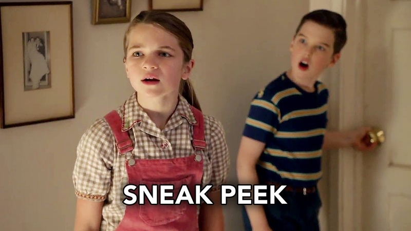 Young Sheldon 3x10 Sneak Peek Teenager Soup and a Little Ball of Fib (HD)