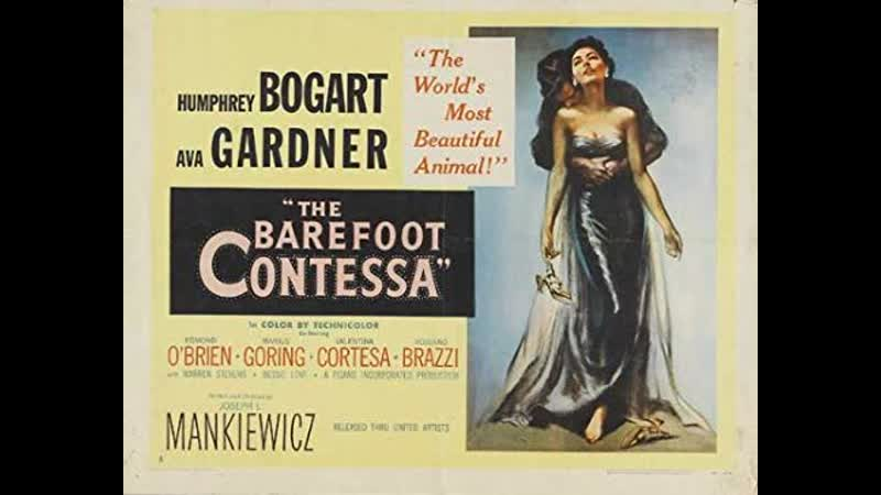 The Barefoot Contessa 1954 Humphrey Bogart Ava Gardner Edmond O'Brien