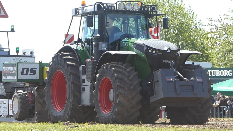 Fendt 1050 Vario Pulling The Heavy Sledge to The Max at Sdr. Vissing Power Pull | Tractor Pulling DK